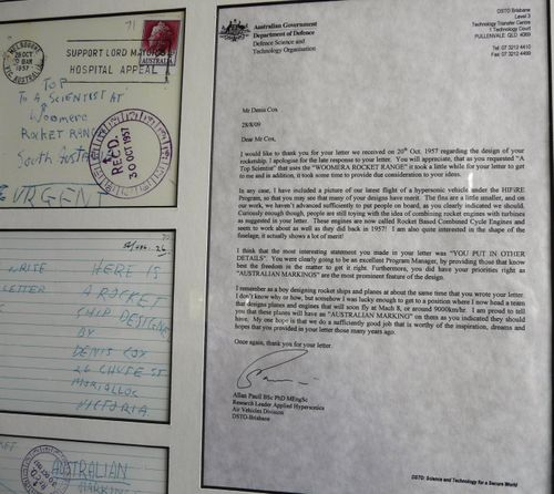 Rocket letter